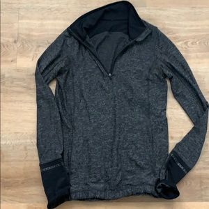 Lululemon 1/4 zip running top